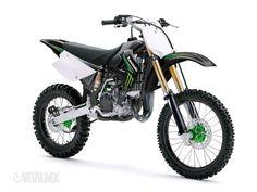 Sweet Dirt Bike! KX 100 Monster Edition