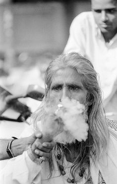 Where There Is Smoke ... There Is Man