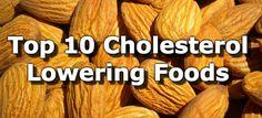 Top 10 Cholesterol Lowering Foods