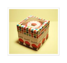 Tutorial: Cupcake Box #diy