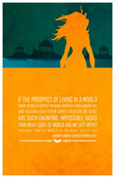 These Cut-Out Style Posters Show the Inspirational Side of Superheroes