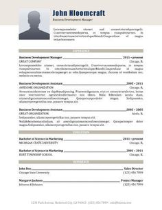 The Modern Resume Refined  Free Resume Templatehloom  Resume Examples .