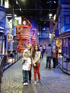 Harry Potter Studios, London.