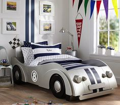 Checkered flag bed time