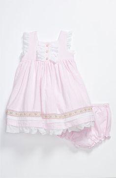 Laura Ashley Seersucker Dress (Infant) available at Nordstrom