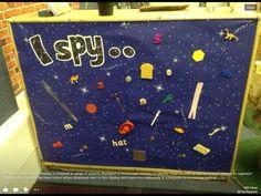 I spy display