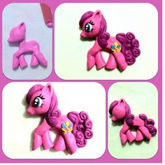 my little pony  porcelana fria polymer clay