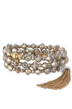 Stella & Dot Milana Tassel Bracelet $49