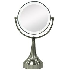 Round Vanity Mirror with LED Surround Light