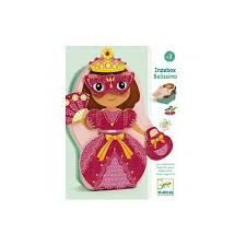 Djeco - Belissimo - Magnetic Dress Up Girl - Toys and Games Ireland
