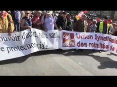 Manifestation des retraités du 30 mars 2017 à Paris
