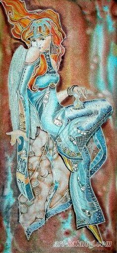 Batik by Olga Olikirolli