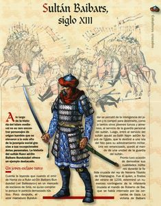 Baibars of the Mamluks Armadura Medieval, Templer, Early Middle Ages, Medieval Knight, Arm Armor, Medieval Times, Knights Templar, Dark Ages, Roman Empire