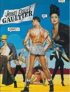 1992 - Jean Paul Gaultier adv