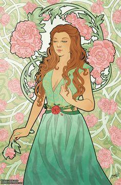 Art-Nouveau Margaery by Missy Pena