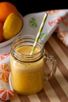 Super Ninja Juice by thehealthywife  #Juice #Orange #Healthy