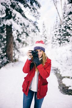 Gal Meets Glam - Penfield jacket, J.Crew Sweater, BP Hat, Sorel Boots