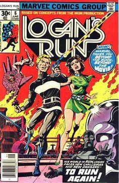 Logan's Run 5 Marvel 1977