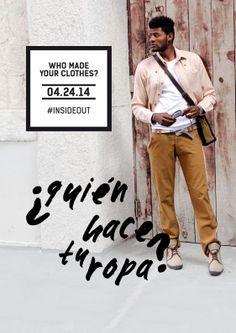 24.04 Associació Moda Sstenible Barcelona Fashion Revolution Day #pasarelasostenible #insideout #whomadeyourclothes