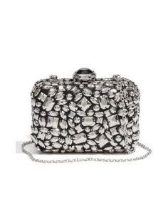 GUESS Jeweled Clutch