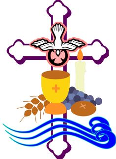 catholic first communion cross clip art free cliparts that you can ...