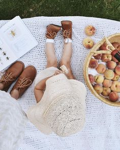 Freshly picked peaches and ice cream. It's been a good Sunday. adorable matching boots from @adelisaandco.