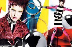 mario testino, december, vogue fashion, color, natalia vodianova, vogu uk, nataliavodianova, fashion editorials, decemb 2012