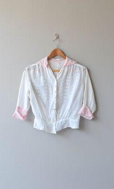 Minette blouse vintage Edwardian blouse 1910s by DearGolden