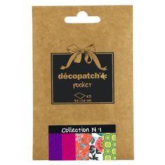 DÉCOPATCH Pocket Papier, 5er Sortiment | im Künstlershop online kaufen