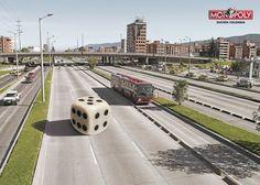 """Ogilvy & Mather Bogotá: Monopoly """"Colombian Edition"""""""