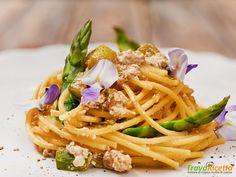 carbonara di asparagi  #ricette #food #recipes