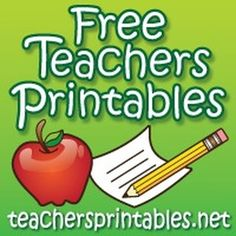 Free Teacher Printables in DOC and PDF format - Teacher and classroom printables that you can download, customize, and print for free. Choose from attendance charts, grading sheets, lesson planning forms, parent communication forms, office passes, school calendars, and more.
