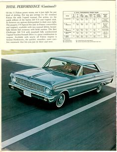Ah, her Ford Falcon.  I don't know if the year is right, but style and color are right on.  Grandma had a lead foot and rocked the manual steering.