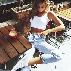 First I drink the Coffee then I do the things #love #runwaydreamz.com #dream #girl #rwdz #tmblr #vintage #denim #ootd