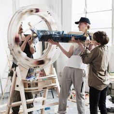 The Thread Wrapping Machine by Anton Alvarez Pinned by www.modelina-architekci.com