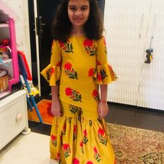 Its soo nice Kids Indian Wear, Kids Ethnic Wear, Baby Girl Dresses, Girl Outfits, Fashion Outfits, Kids Party Wear, Baby Dress Design, Kids Lehenga, Kids Gown