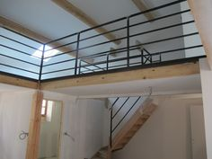 1000 images about garde corps on pinterest mezzanine staircases and metals - Rampe escalier cable acier ...