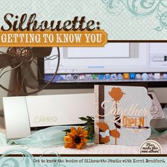 Join Kerri Bradford as she guides you through an overview of Silhouette Studio's basic tools + menus and how to make the most of your Library. She'll get you on your way to making your first cuts as well as make a darling mini album! studio, cant wait, 6 months, silhouett cameo, birthdays, silhouett project, cricut, cards, silhouette cameo