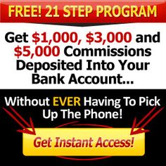 My Top Tier Business: MTTB 21 Steps System is MOBE's premier commission generating system. Discover how to get $1,000, $3,000 and $5,000 commissions deposited directly into your bank account without ever making a phone call.