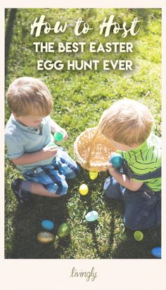 Ready for some inspiration for the cutest, most creative egg hunt ever?
