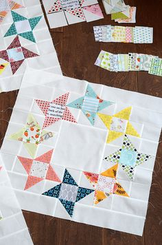 Round & Round Quilt Block by croskelley