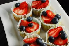 Mini Cheesecakes Recipe - 2 Points + - LaaLoosh