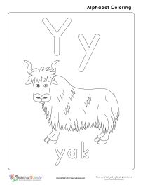 Letter Y Worksheets Kindergarten Free Printable Alphabet