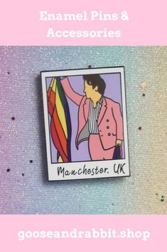 Harry Styles Live in Manchester. Grab this Harry styles enamel pin for your pin collection. Click the photo to buy. Harry Styles Live, Etsy Business, Small Gifts, Some Fun, Pin Collection, Stocking Stuffers, Manchester, Christmas Stockings, Vegan Shirts