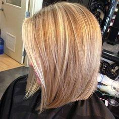 36 Ideas Hair Blonde Highlights Lowlights Summer Colors Haircolor For 2019 Hair Styles 2016, Medium Hair Styles, Short Hair Styles, Hair Medium, Modern Bob Hairstyles, 2015 Hairstyles, Summer Hairstyles, Blonde Color, Blonde Highlights