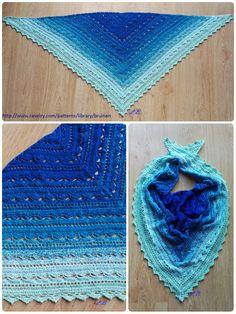 šátek z duhového klubka inspirace z: http://www.ravelry.com/patterns/library/bruinen