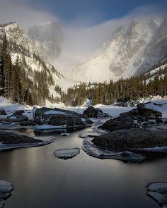 Winter continues at Dream Lake in Rocky Mountain National Park . . . . #rmnp #coloradotography #colorado_creative #bestmountainartists #wayupcolorado #outdoorsociety #wanderlust