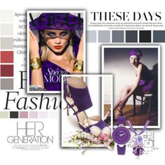 Fashion Trendy Outfit Purple Elegant Style Look