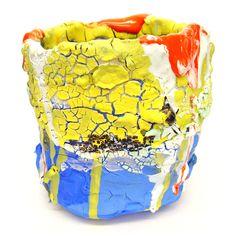 Brian Rochefort, Untitled (Cup #1), 2014, ceramic, multiple glazes