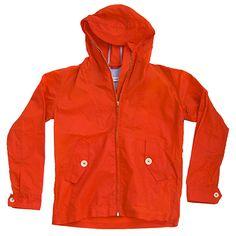 Wilson Wax Jacket - Orange (read wall)